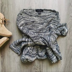 Atmosphere Oversized Cozy Chunky Knit Soft Sweater